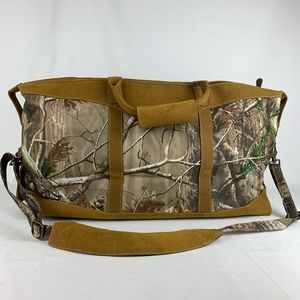 """Canyon Outback Realtree 22"""" Carry-On Duffel Bag"""